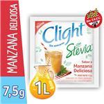 Jugo En Polvo CLIGHT Manzana Deliciosa Light Stevia Sobre 7.5 Gr
