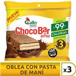 Oblea Arroz Gallo Snack Paq 60 Grm