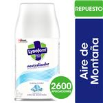 Desinfectante LYSOFORM Aire De Montaña Aerosol 270 CC
