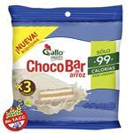 Oblea Arroz Choco Bl GALLO SNACK Paq 60 Grm