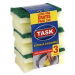 Esponja Salva Uñas 3x2 TASK Pak 3 Uni