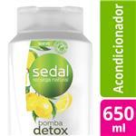 Acondicionador SEDAL   Pureza Detox Botella 650 ML