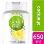 Shampoo SEDAL  Pureza Refrescante  650 Ml