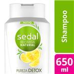 Shampoo SEDAL   Pureza Refrescante Botella 650 ML