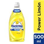 Detergente MAGISTRAL POWER CLEAN Limón  Botella 500 Ml