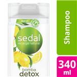 Shampoo SEDAL  Pureza Refrescante Botella 340 Ml