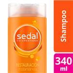 Shampoo SEDAL  Restauración Instantánea Botella 340 Ml