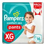 """Pañales  PAMPERS Pants Pants """"XG"""" 16 Unidades"""