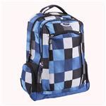 Mochila SPX Blue Check 31.5x15x43 . . .