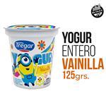 Yogur Entero TREGAR Vainilla Cremoso 125 Gr