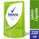 Jabon Liquido Bamboo REXONA Doy 220 Ml