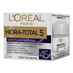 Crema Facial Hidra Total +4 LOREAL Pom 50 Ml