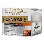 Crema Facial Hidra Total +5 LOREAL Pom 50 Ml