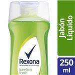 Jabon Liquido Bamboo REXONA Bot 250 Ml