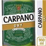 Vermouth Carpano Dry Botella 950 CC