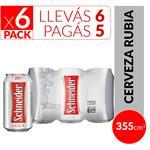Cerveza Lager SCHNEIDER Pack Latas 355 Cc 6 Unidades