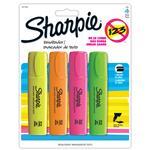 Resaltador SHARPIE Varios Colores 4 Unidades