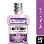 Enjuague Bucal LISTERINE Cuidado Total Zero Botella 250 Ml