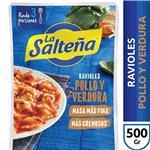 Ravioles Pollo/Verd Poc La Salteña Bli 500 Grm
