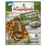 Saborizador   La Campagnola Romero Y Tomillo    Sobre 25 Gr