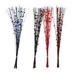 Flor Artificial Bamboo Stick Con Bolas 80cm . . .