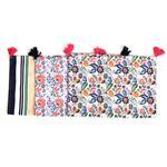 Repasador Floral/Stripe 45x65 Cm . . .