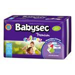"""Pañales BABYSEC Premium Colores """"XXG"""" 32 Unidades"""