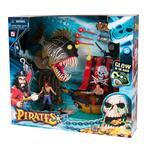 Playset Piratas Pez Globo Con Accesorios . . .