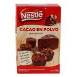 Cacao En Polvo Nestle   Para Reposteria Caja 200 Gr