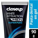 Crema Dental CLOSE UP White Attraction Men Pomo 90 Gr