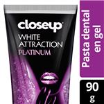 Crema Dental CLOSE UP  Attraction Platinum Pomo 90 Gr