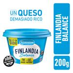 Queso Untable Light Balance Finlandia Pot 200 Grm