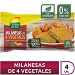 Milanesa Soja Soja-Vegetales Granja Del  Paq 320 Grm