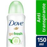 Desodorante Antitraspirante DOVE Go Fresh  Aerosol 150 CC