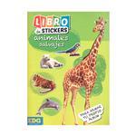 Libro De Stickers Animales Salvajes