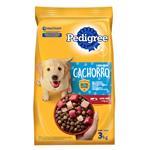 Alim. Perros Cachorro Pedigree Paq 3 Kgm