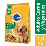 Alim. Perros Carne Y Vegeta Pedigree Paq 1.5 Kgm