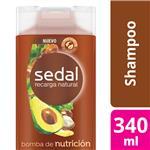 Shampoo SEDAL  Bomba De Nutrición Botella 350 ML