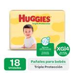 Pañal HUGGIES Triple Protección  Xgx18