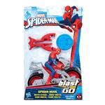 Spiderman Moto Cuatric B9705 . . .