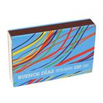 Fósforos BUENOS DÍAS  Diseño Caja 220 Unidades