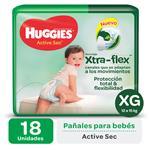 Hugg Actsec Mega Xg HUGGIES Paq 18 Uni