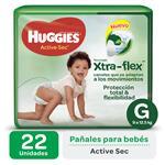 Pañal HUGGIES Active Sec Gx22