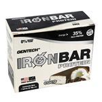 Barra De Proteina Gen Tech Coco Ironbar Caja 7 Barras De 46 Gr