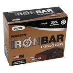 Barra De Proteina Gen Tech Chocolate Ironbar Caja 7 Barras De 46 Gr