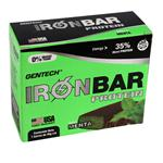 Barra De Proteina GEN TECH Menta Ironbar Caja 7 Barras De 46 Gr