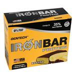 Barra De Proteina Gen Tech Banana Ironbar Caja 7 Barras De 46 Gr