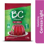 Gelatina BC Cereza Light   Sobre 20 Gr