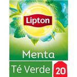 Té Verde LIPTON   Menta Caja 20 Saquitos