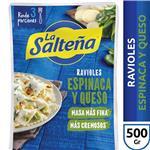 Ravioles Esp/Muzzarella LA SALTEÑA Bli 500 Grm